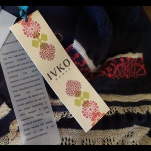 IVKO Sweaters - NWT Cotton/Linen Coat Style Long Cardigan Size S